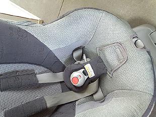 チャイルドシートのクリーニング7